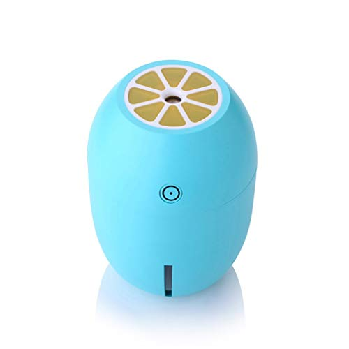 Humidificador USB de Gran Capacidad de 180 ml, portátil de Regalo de limón, Cierre automático sin...