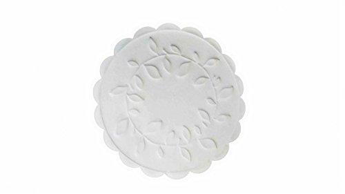 TableSMART 9cm Coaster White - by TableSMART