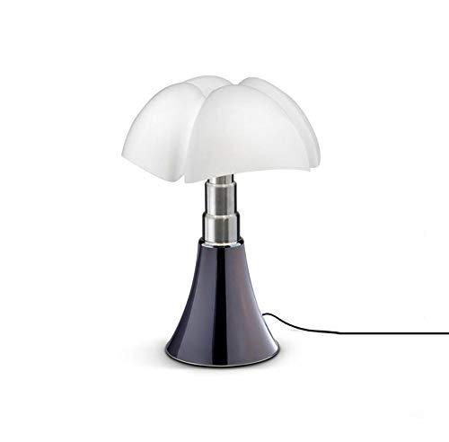 MINI PIPISTRELLO-Lampe Touch LED H35cm Titane Martinelli Luce - designé par Gae Aulenti