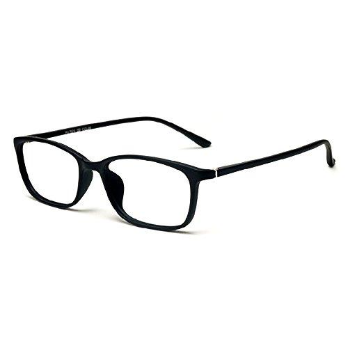 Forepin Nerdbrille mit Metallrahmen Brille Ohne Stärke Retro Dekobrille Klassisches reg; Klare Linse Glaeser für Unisex Damen und Herren