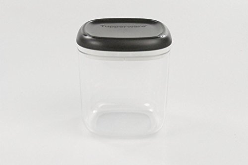 TUPPERWARE Clear Collection 780 ml Crystal schwarz transparent Vorratsdose Dose