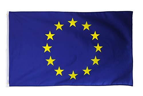 Star Cluster 90 x 150 cm | Europaflagge | Europa Flagge | European Flag (EU 90 x 150 cm)
