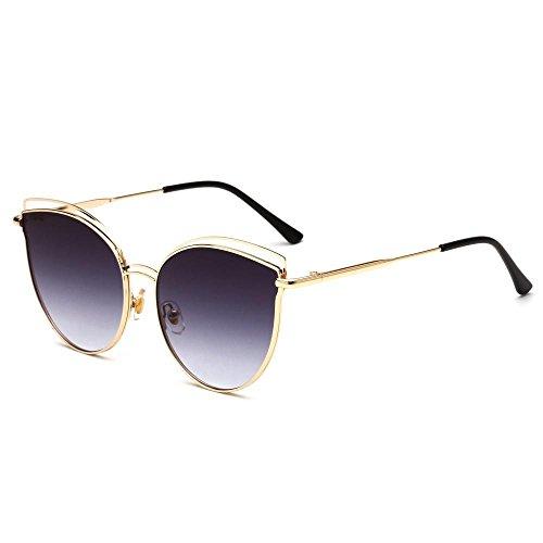 BiuTeFang Mens Sunglasses Women Fashion Sunglasses Europe and The United States Retro Color Film Sunglasses Trend Big Men and Women General Sun Glasses