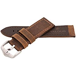 Valour Sopwith Aviator Vintage Dark Brown Strap