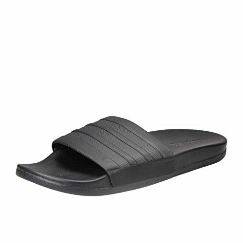 adidas Adilette CF+ Mono, Herren Pantoletten Dusch- & Badeschuhe, Schwarz (Core Black/Core Black/Core Black), 50 EU (14 UK)