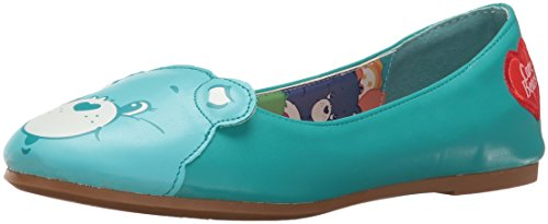 Image of Iron Fist Women's Wish All Bear Flat Platform Heels, Blue (Teal), 5 UK 38 EU