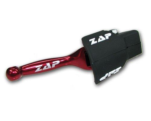 ZAP flex-levier de frein yamaha yZ 08 (l) yZF 250 à partir de 2007 (rouge)