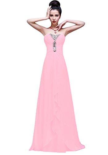 Vimans - Robe - Trapèze - Femme rose 2