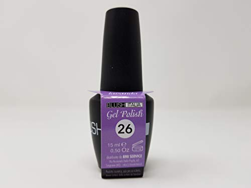 Gel Polish 15 ml semipermanenti Blush Italie 96 couleurs ultra coprenza maximale durée (26 – Lavande)