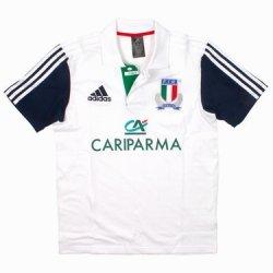 ADIDAS Polo Italia Rugby F.I.R. Bianca 2014 Adulto M