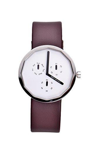 issey-miyake-unisex-twelve-watch-im-silap017-with-brown-leather-strap