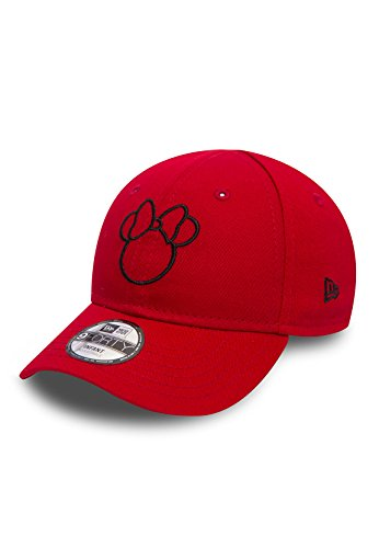 Disney Silhouette New Era 940 Kids Cap (Minnie Mouse / Scarlet/Black) - Child