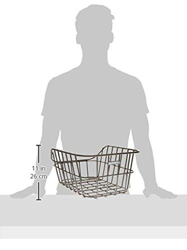 Amazon Basil Fahrradkorb Cento Alu Schwarz 45 Cm X 33 Cm X 2 08715019111891