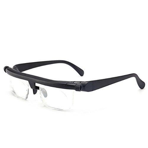 Einstellbare Stärke Objektiv Lesebrille Brillen Lupe Variabler Fokus Vision Variable Myopie - Einstellbare Brillen-lupe