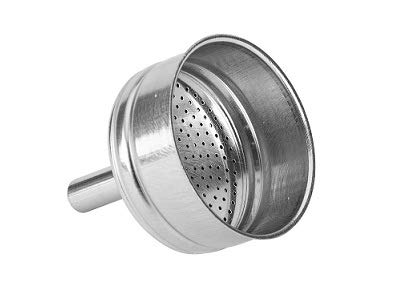 Bialetti Musa Edelstahl (Bialetti: Funnel Filter Replacement for Venus/Musa/Kitty 10-Cups [ Italian Import ])
