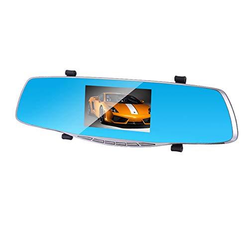 TOOGOO Auto Dvr Kamera Voll Hd 1080 P 4,3 Zoll Rück Spiegel Dual Lens Video Recorder Auto Registrator Camcorder Auto Schlag Cam