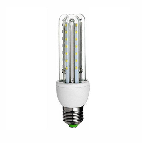 ZWL Led Energiesparlampen, E27 Weißlicht Mais Birne Highlight High Power Haushalt Beleuchtung Spirale Energiesparende Glühbirne Lampen Lichtquelle 5-36 Watt , Bringe Licht in dein Leben ( watt : 9W )