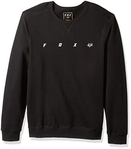 Fox Herren Maxis Crew Fleece Sweatshirt, schwarz, X-Groß Classic Crew Fleece Sweatshirt