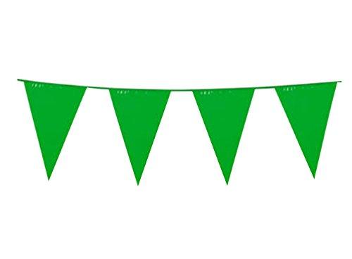 Wimpel Kette St Patrick´s Day, Grün (St Patricks Day Fahne)