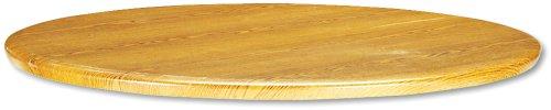 Hon 1321VM Tischplatte mit Komfortrand, rund, 91,4 cm Durchmesser, Eiche mittelgroß - Eiche Konferenztisch