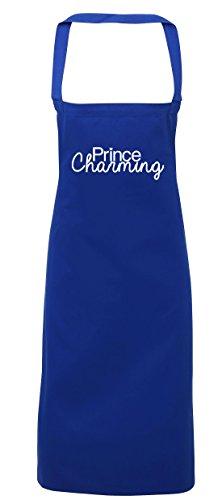 hippowarehouse Prince Charming Schürze Küche Kochen Malerei DIY Einheitsgröße Erwachsene, königsblau, Einheitsgröße (Ein Kind Zu Prince Charming Kostüm)