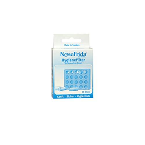Nosefrida Hygienefilter für Nasensekretsauger, 20 Stück, 20085 0011 01, Ersatzfilter, Nasensauger - 2