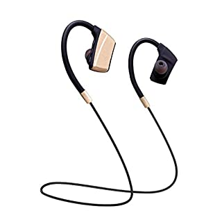 Bluetooth Headphones Wireless Sport Headphones Hanging neck Bluetooth 4.2 Earphones Stereo Noise Isolating Magnetic Earbuds IPX5 Waterproof Headset with Mic for Running, Gym, Cycling and More