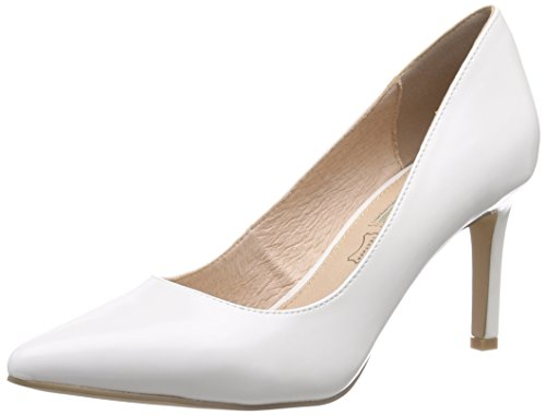 Buffalo H733-C002A-4 P1239K Box PU, Damen Pumps, Weiß (White), 38 EU