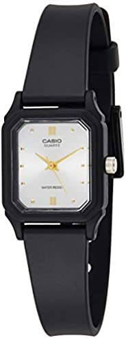 Casio Women's White Dial Resin Analog Watch - LQ-142E-