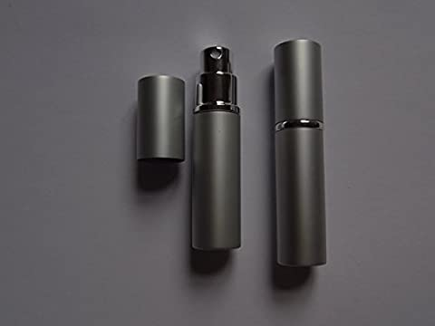2 Stück Parfümzerstäuber Zerstäuber Parfüm neu 5ml Aluminium nachfüllbar Taschenzerstäuber