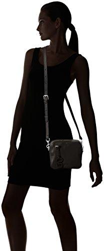 Bree - Stockholm 30, Borse a Tracolla Donna Nero (Nero (Black 900))