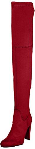 Buffalo London Damen 2861 Micro Strech Stiefel, Rot (Rojo), 40 EU