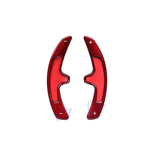 Preisvergleich Produktbild TINTABO Getriebekohlefaser-Rad-Schalthebel-Paddel-Schaltverlängerung,  für Porsche 987 997 991 958 Carrera Panamera 2009 2010 2011 2012 2013