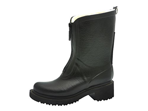 Ilse Jacobsen Short Zipper Rboot Black *