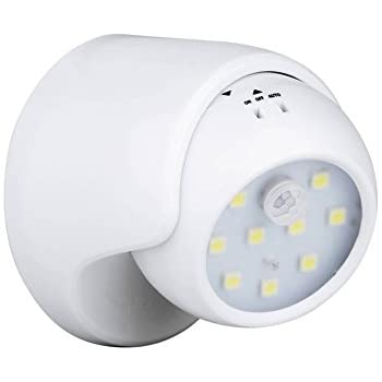 Auraglow battery operated motion activated pir sensor removable enjoydeal pir motion sensor night light9 led battery operated 360 auto onoff 3 modes wireless security light lamp for homeindoor outdoor aloadofball Choice Image