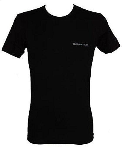 T-shirt maglietta uomo trussardi jeans art.tr0007 taglia s col.020 nero