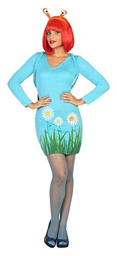 Atosa 18238 - Schnecke, Damenkostüm, Größe M-L, (Für Erwachsene Kostüm Schnecke)
