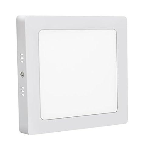 Xyd® 6W-24W LED carré fin Duvet de Dalle de plafond à encastrer Down Lampe pour salle à manger, salon, couloir, salle de conférence et de bureau léger d