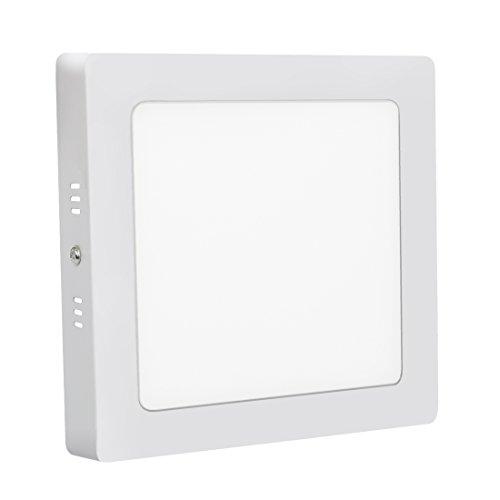 LED Panel Light Platz Flush Mount LED Ceiling Light Bürodeckenleuchten 18W 6000K Panel Downlight Beleuchtung für Bad Küche Schlafzimmern Wohnzimmer Konferenzräume Büro Energiesparend XYD®