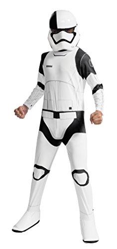 Imagen de carga de star wars niños de disfraces de ejecutor trooper jedi general máscara blanca  m