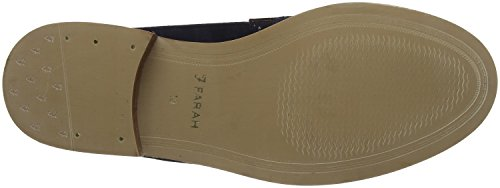 Camoscio Blu navy Mocassini Uomo Calice Vintage Farah wxY10q8gZ