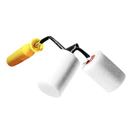 TianranRT Roll Alle Dual Paint Roller Hilfen Paint Fechten Stöcke Und Ecken Dual Paint Roll -