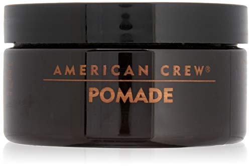 AMERICAN CREW POMADE MAN - Pomada de fijación media con brillo alto para hombre, 85 gr