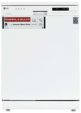LG D1451WF Dishwasher (14 Place Settings, White)