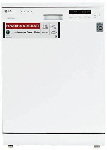 Lg D1451wf Dishwasher (14 Place Settings, Silver)