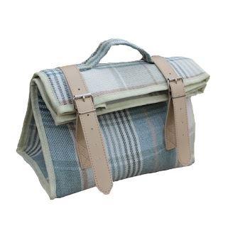 Creme Tweed Kühltasche Pouch Bag