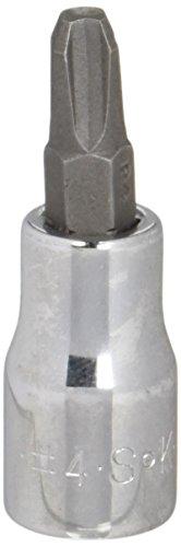 SK HAND TOOL 45481 NUMBER-1 3/8-INCH PHILLIPS SCREWDRIVER BIT SOCKET  CHROME