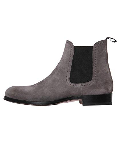 Magnanni Herren Chelsea-Boots Antibes Grau