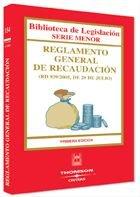 Reglamento General de Recaudación (Biblioteca de Legislación - Serie Menor) por Ediciones Civitas