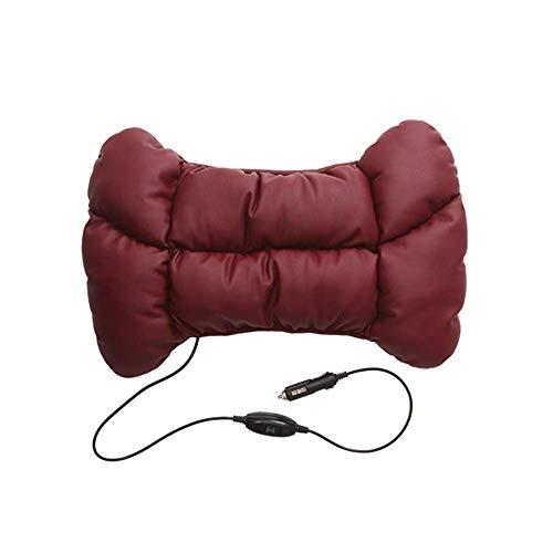Jueven Multifunktions-3D-Vibrationsmassage-Taillen-Kissen-Auto-elektrisches Massagegerät-Qualitäts-Leder-Taillen-Kissen-Autokissen kann das Ermüdungsfahren erleichtern Ergonomisches Massagegerät